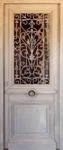 porte avec ouvrant vitre grille en font partie vitree With porte d entrée avec vitre ouvrante