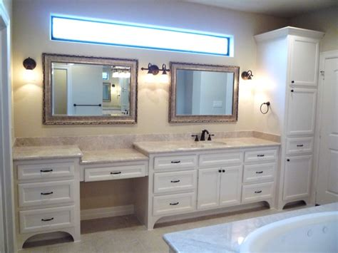 custom bathroom cabinets vanities traditional