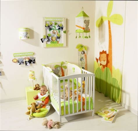 chambre bébé jungle chambre fille chambre bebe decoration jungle
