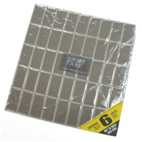 smart tiles harmony mosaik smart tiles 10 25 in x 10 65 in peel and stick mosaic