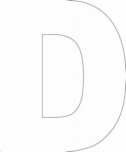 Printable Letter Templates Alphabet Cut Printablee Coloring