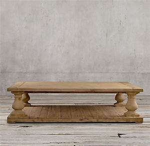 restoration hardware coffee table design images photos With restored wood coffee table