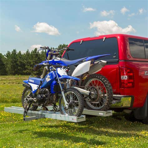 Black Widow Aluminum Double Motorcycle Carrier  600 Lbs