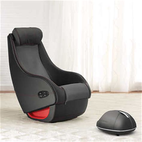 brookstone react shiatsu chair and foot massager bundle