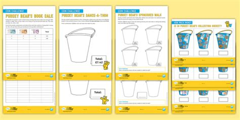 * New * Uks2 Bbc Children In Need Maths Differentiated Activity Sheets