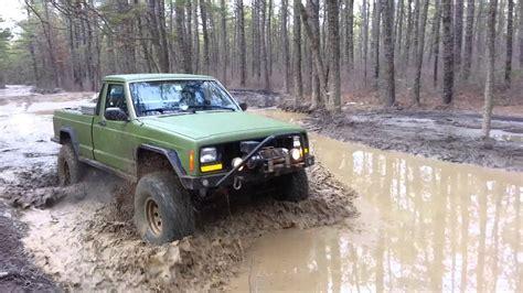 jeep comanche mj   mud  wharton state forest