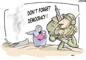 Democracy Political Cartoon
