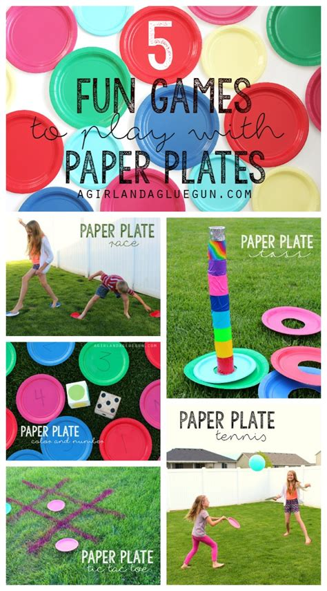 what is a fun game to play at christmas with family 5 to play with paper plates a and a glue gun