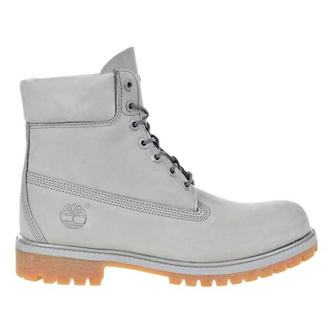 Timberland Lighting by Timberland 6 Inch Premium Waterproof Mens Boots Light Grey