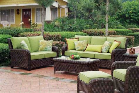 Whether you circle a few around a fire pit to cook up s'mores or place a few on your porch for early morning birdwatching, the classic style adds a bit of traditional charm to any space. Outdoor Resin Wicker Patio Furniture Sets - Decor Ideas