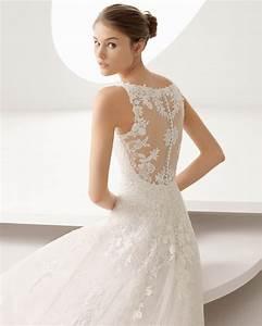 la dentelle tendance indemodable des robes de mariee With robe mariée dos dentelle