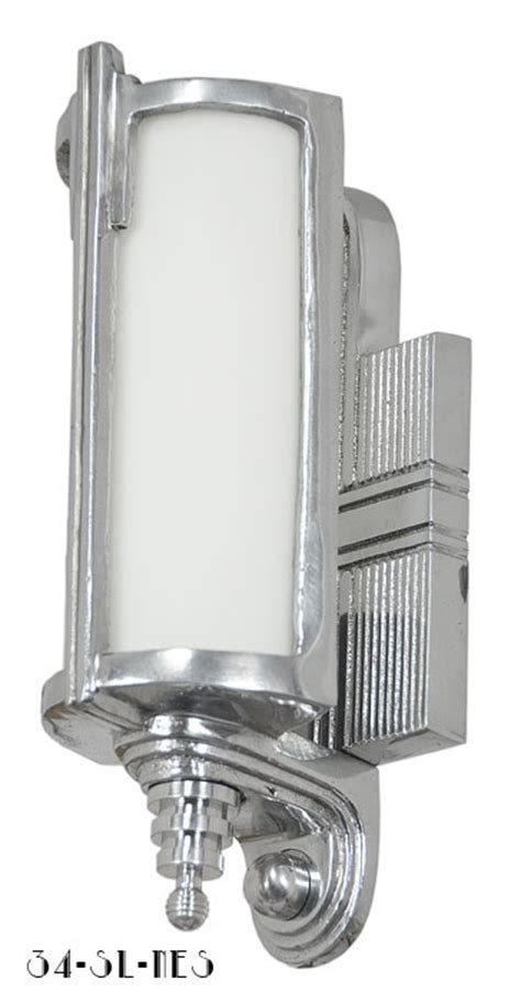 style recreated art deco streamline sconce modernism
