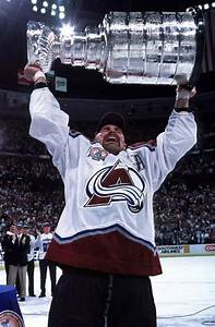 Ray Bourque holding the Stanley Cup | Colorado Avalanche ...