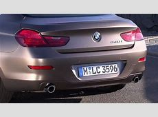 2013 Frozen Bronze Metallic BMW 640i Gran Coupe Exterior