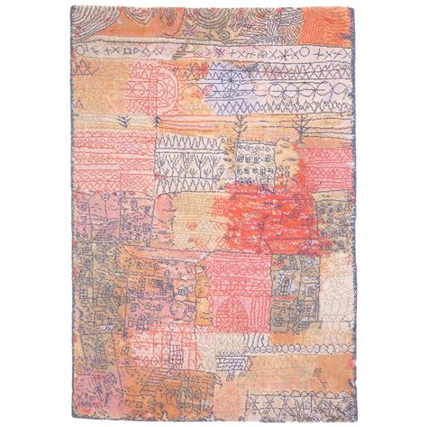 Paul Rug by Paul Klee Carpet Quot Florentinisches Villenviertel Quot By Ege