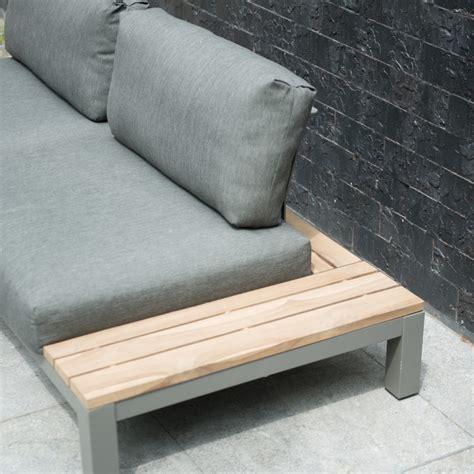 coussin canape jardin fidji chauffeuse canapé de jardin lounge en alu avec 2