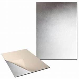 Plaque De Metal : plaque de m tal adh sive 30 x 40cm 2 plaques tableau magn tique creavea ~ Teatrodelosmanantiales.com Idées de Décoration