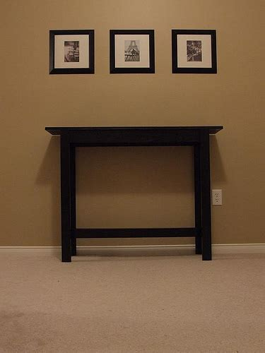 Inexpensive Sofa Tables by White Simple Cheap And Easy Console Table Diy