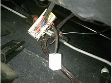 help removing seatbelt wiring harness cover under front