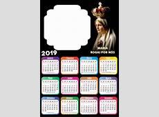 Calendário 2019 Religioso para Foto Moldura Imagem Legal