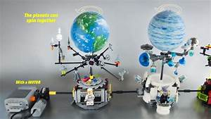 Lego, Spinning, Planets