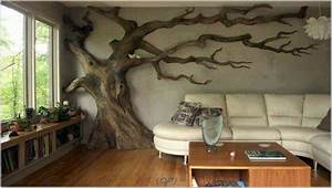 home decor tree wall painting diy teen room decor With what kind of paint to use on kitchen cabinets for black tree wall art