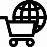 Commerce Icon International Transparent Ecommerce Global Shopping