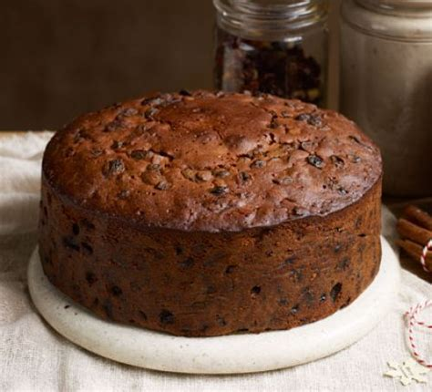 buttered rum christmas cake recipe bbc good food