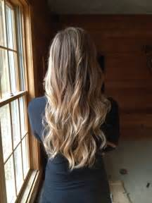 Blonde Ombre On Long Hair
