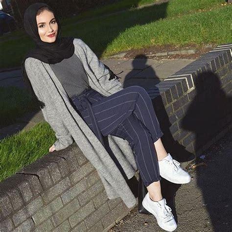 trend gaya fashion hijab remaja