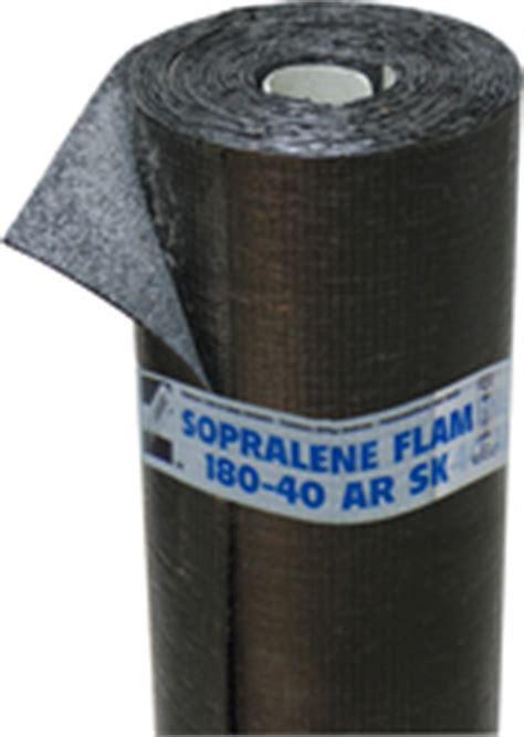 sopralene flam 180 40 ar 20 176 c στεγάνωση μόνωση