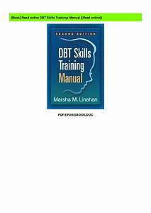 Read Online Dbt Skills Training  Manual   Read Online