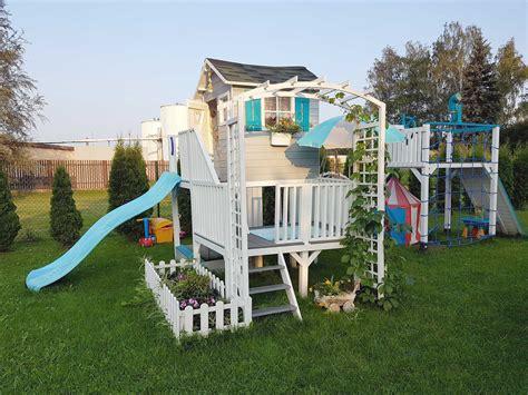 Koka spēļu namiņš bērniem