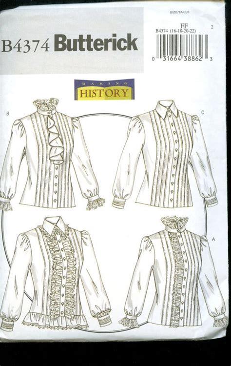 Items similar to Butterick 4374 Victorian/Edwardian ...