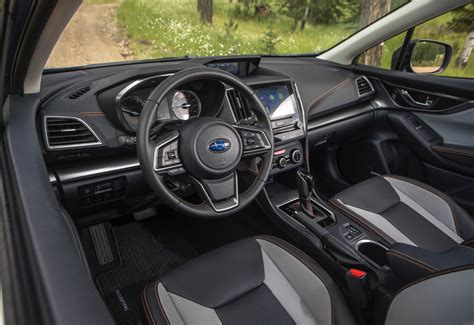 subaru crosstrek interior 2018 subaru crosstrek review