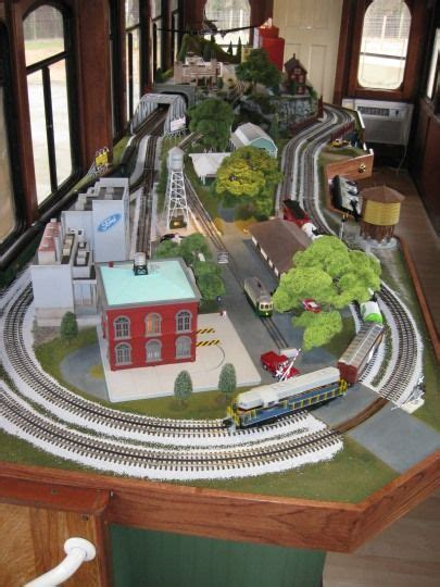 table top layout traininstallationscom model train