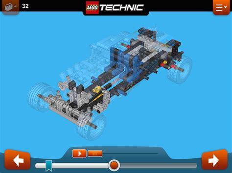lego technic rod rally racer build app appears for tablets slashgear