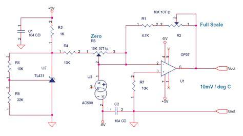 Based Temperature Sensor Delabs Schematics