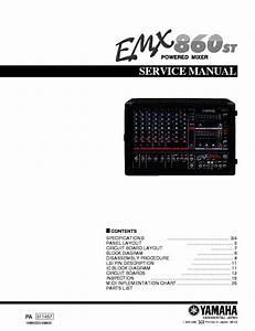 Yamaha Pm2000 Mixer Service Manual Free Download