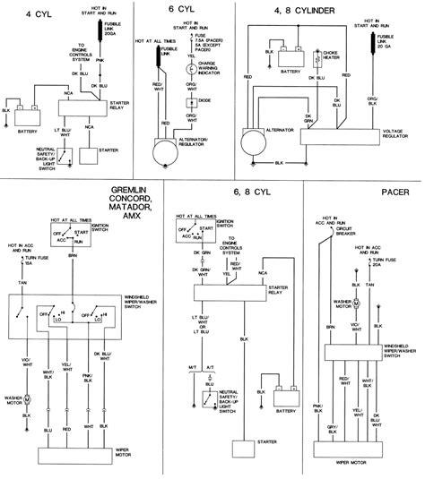 1974 Amc Javelin Wiring Diagram by Repair Guides