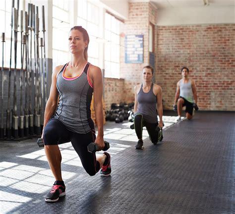 dumbbell leg exercises popsugar fitness