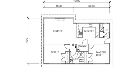 2 bedroom transportable homes floor plans