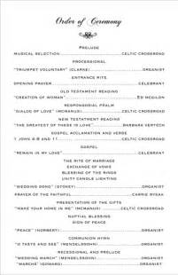 wedding ceremony order best photos of wedding ceremony sles sle wedding ceremony program exles sle