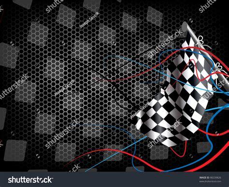 Racing Background Stock Vector 98239826 Shutterstock
