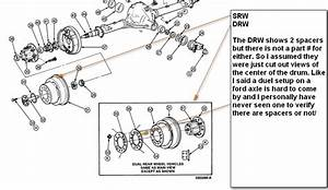 Ford F250 1997 2wd How Do I Fit Duel Wheels To The Rear  Diff Is A Sterling 10 25 With A 7 3