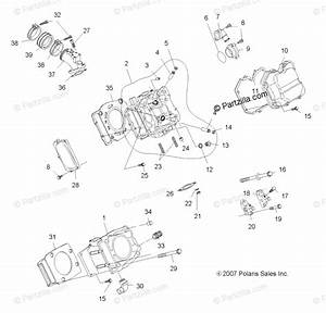 Polaris Atv 2008 Oem Parts Diagram For Engine