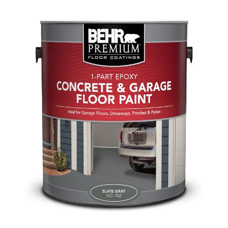 Garage Floor Paint Won T by 2 Part Epoxy Floor Paint Home Depot Tcworks Org