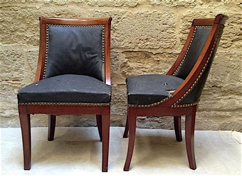 Chaise Empire Gondole by Chaise Gondole Side Chairs Au Vieux Paris Antiques