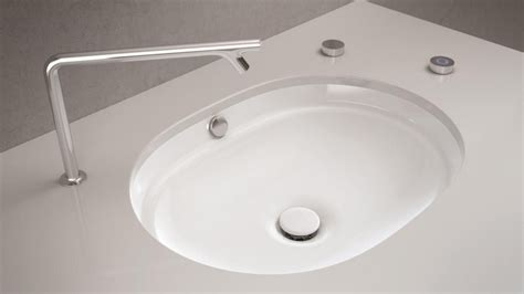 Self Bathroom Sink by What S New In The World Of Wash Basins Auto Clean Matte