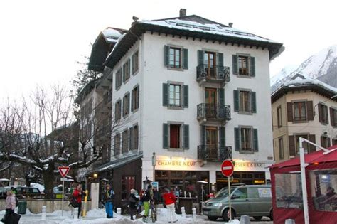 chambre neuf chamonix front of hotel from the station picture of